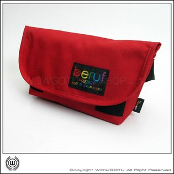 【 BERUF 】與眾不同.日本最激潮貨BERUF EASY WAIST BAG 腰包/背包 - 16MB 紅 - 好評發售中