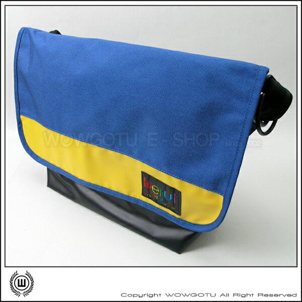 【 BERUF 】Messenger Bag -13M(08) - 專業級郵差包 好評發售中(藍黃)