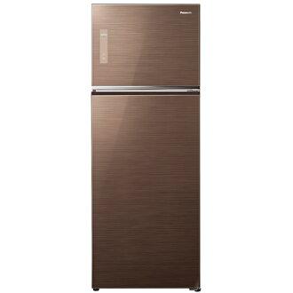 【國際牌Panasonic】ECONAVI  485L雙門變頻電冰箱。翡翠棕/(NR-B487TG/NR-B487TG-T)