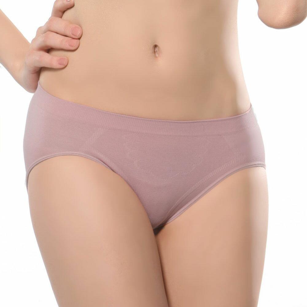 【Emon】《竹炭.無縫》一體成型中低腰三角褲 0
