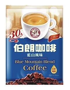 伯朗咖啡藍山風味三合一