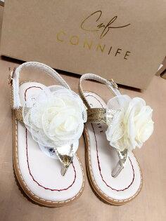 【connife童鞋】花花夾腳涼鞋