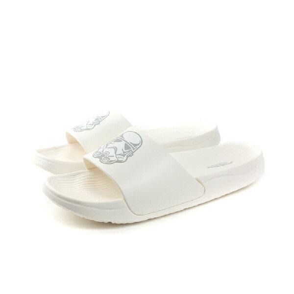 迪士尼 Disney 拖鞋 男鞋 白色 no707