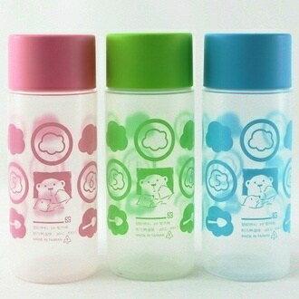 【珍昕】  小茶花 隨行杯 ~3色/粉.藍.綠(360ml)