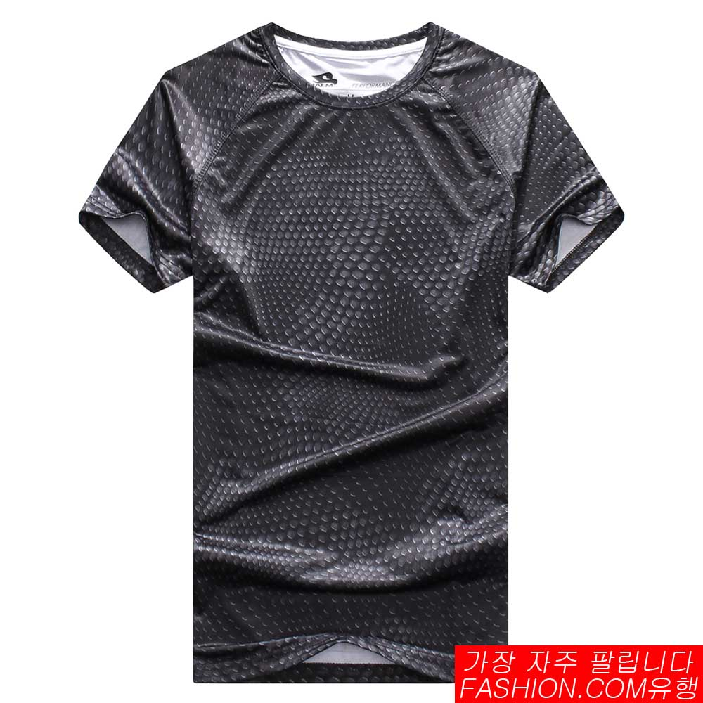 DITION  速乾pufy抗uv 高科技立體蛇紋 水波紋健身 0