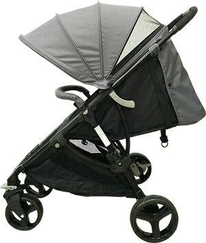 【酷貝比】城市嬰兒手推車 (灰色) 贈送價值NT$690雨罩 2