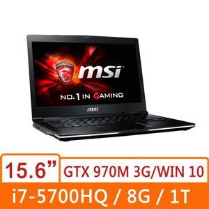 MSI微星 GE62 2QF(Apache Pro 4K)-285TW-BB7570H8G1T0B10M 15.6寸電競