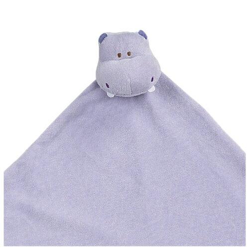 『121婦嬰用品館』美國Angel Dear 大頭動物嬰兒毛毯 河馬(紫)AD2048(此商品售出不做退換) 1