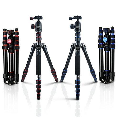 WINER-601 專業炫彩腳架 紅藍兩色