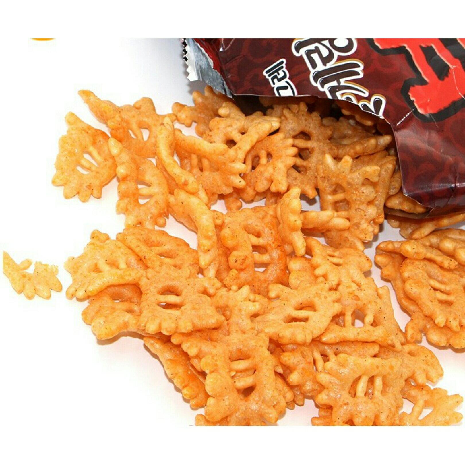 有樂町進口食品 韓國版阿基師推薦 李連福螃蟹炒碼麵餅乾 70g 8801111919609 1