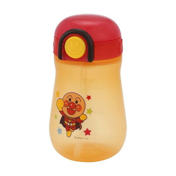 日本 Anpanman 麵包超人 彈跳吸管 水壺/水杯/學習杯