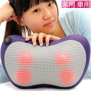 溫熱敷揉捏按摩枕頭(按摩球肩頸按摩器材.溫揉舒壓按摩機器.腳底按摩器按摩用品.肩頸按摩帶.推薦哪裡買)P160-CM100
