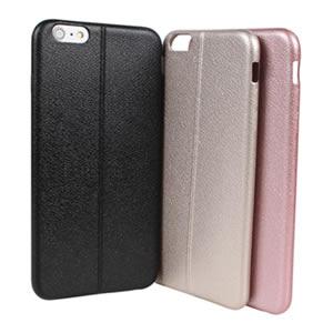 Ultimate-Apple iPhone 6/6S PLUS 紳士真皮軟質保護殼 軟殼 保護套 清水套