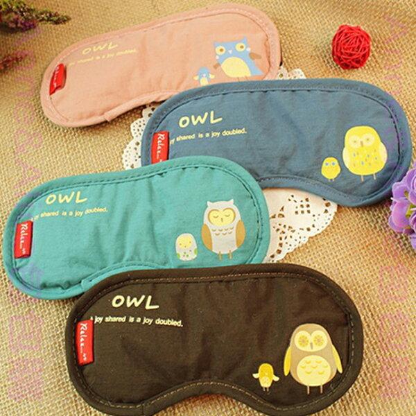 * Anne&Alice包包購 * ~精選實用小物專區~ 超可愛OWL貓頭鷹旅行眼罩~多色可供選擇~*