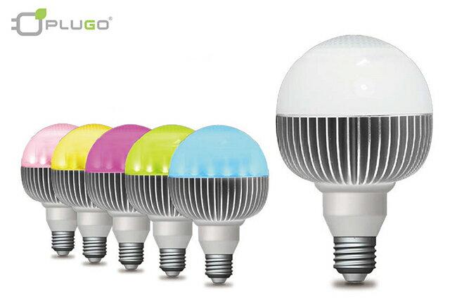 【PLUGO 普樂購】LED藍牙音樂球泡燈(白色)/BBD-463WW