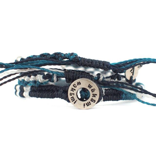 【現貨商品】【wakami】水底的冒險編織手環三條(WA0475  0627880000) 2