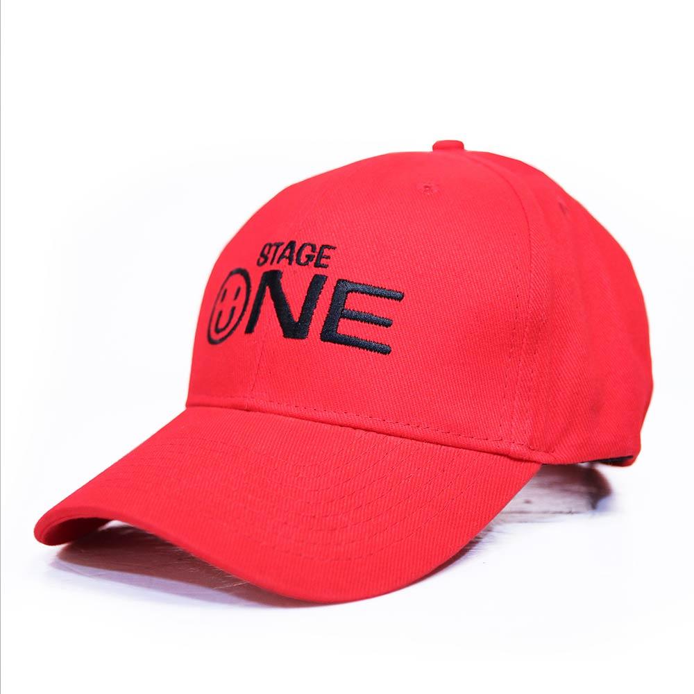 STAGEONE SMILE BASEBALL CAP 黑色 / 紅色 / 粉紅色 三色 3