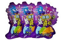 萬聖節Halloween到(馬來西亞) 霹靂腳ㄚ 跳跳糖 棒棒糖 葡萄腳ㄚ 1盒 260公克 (20包入) 特價 169 元 【9555021807004】 ( 同學會 二次進場 聖誕節 萬聖節 必備 )