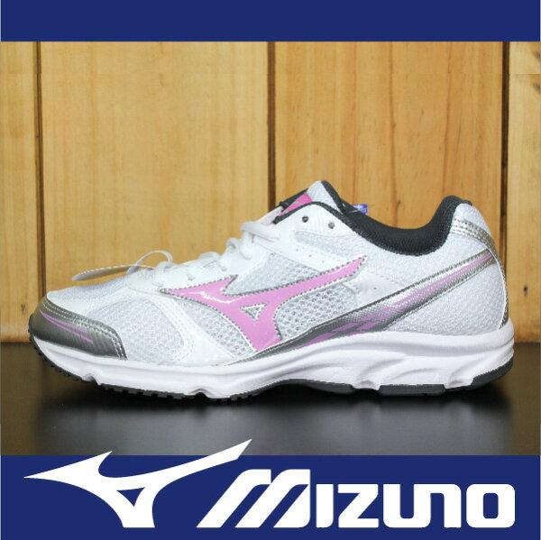 萬特戶外運動-MIZUNO美津濃 K1GA150165 MAXIMIZER 17 基本款 慢跑 學生鞋 寬楦 白色 女款
