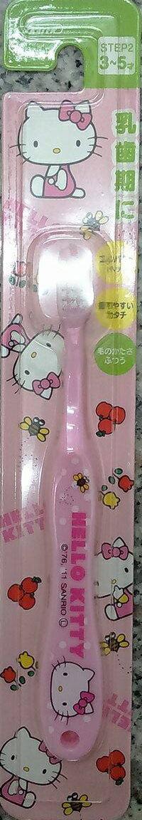 『121婦嬰用品館』卡通幼兒牙刷(3-5Y) - kitty 0