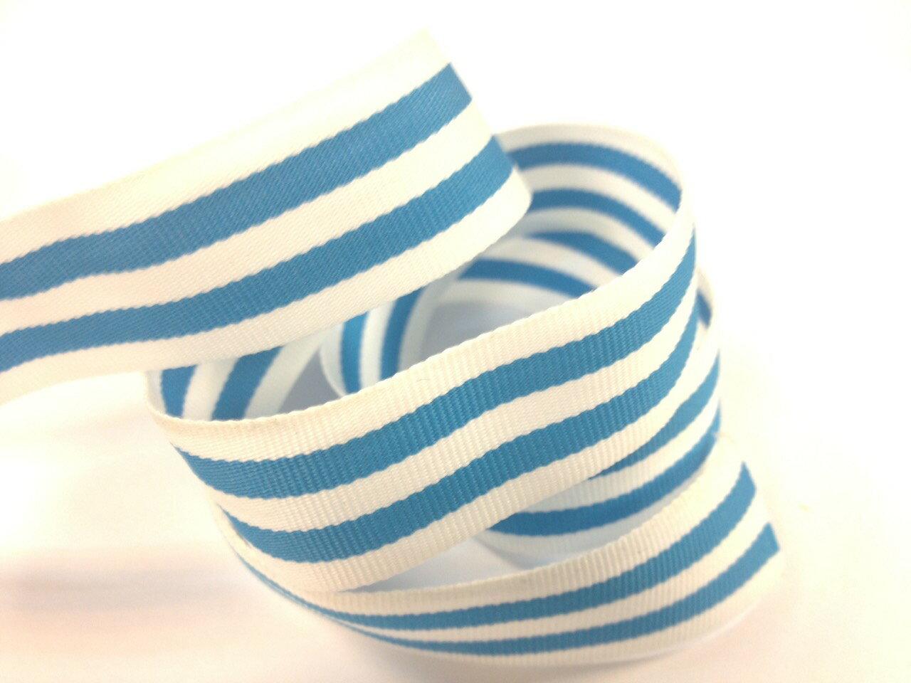 單色條紋平織帶-10mm(七色) 1