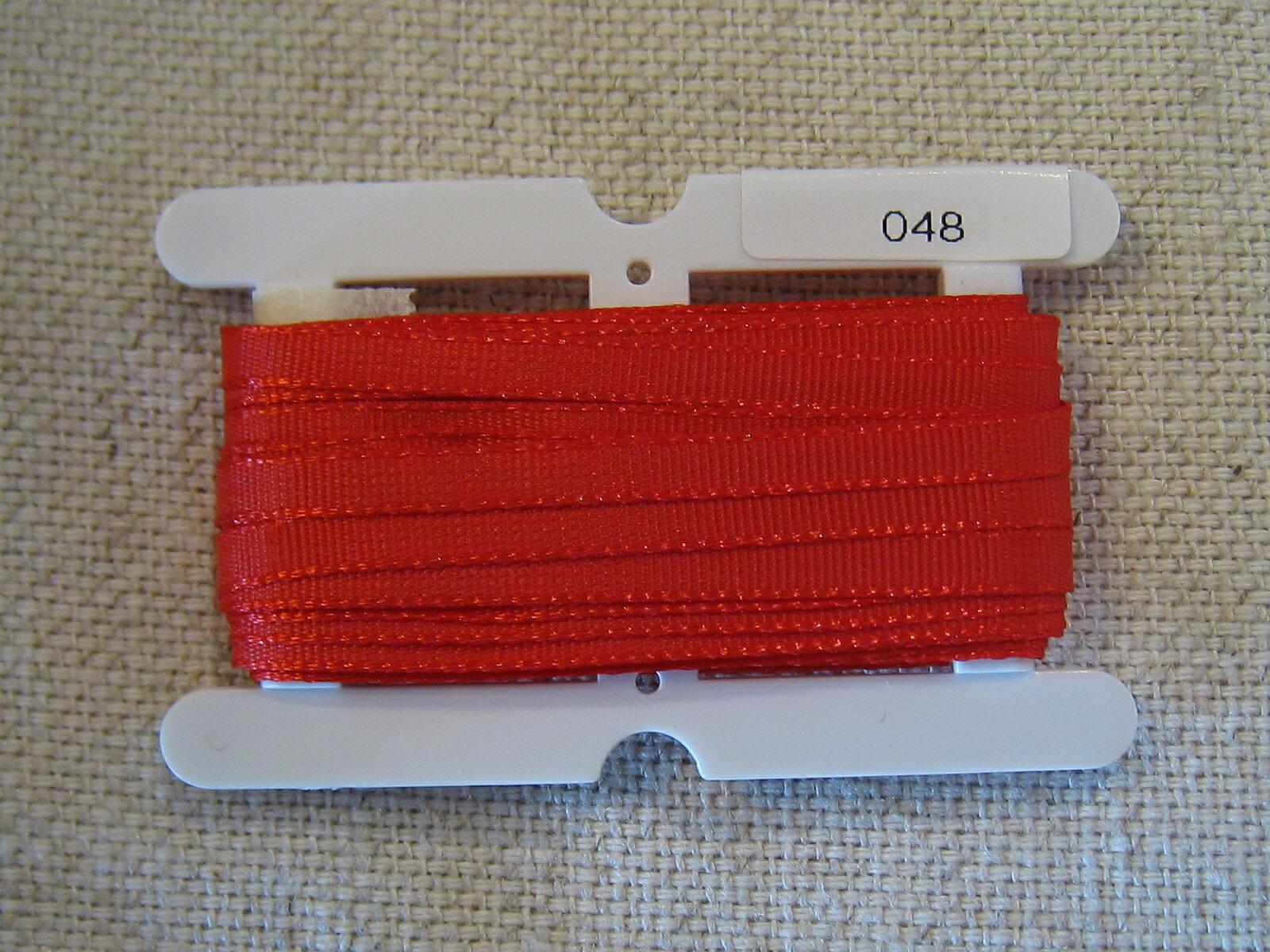 Petals緞帶刺繡- 橫紋帶 3.5mm (十九色) 7