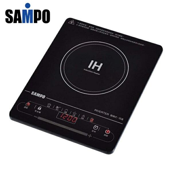 ◤A級福利品‧數量有限◢ SAMPO 聲寶 超薄觸控變頻電磁爐 KM-SF12Q