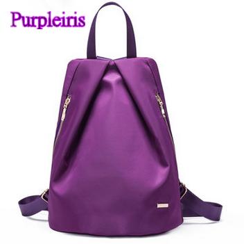 【鳶尾紫】紫色包包 紫色女包 輕便 後背包  最新款女包 後背包防盜防刮清新韓版實用手提包側背包運動風雙肩包單肩包爆款