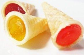 有樂町進口食品  分享古早味  甜筒冰淇淋軟糖~冰淇淋餅*500g*超級可愛又好吃 1