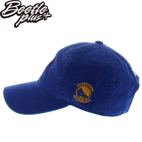 BEETLE 47 BRAND 老帽 金州 勇士 GOLDEN STATE WARRIORS DAD CURRY 藍 MN-400 1