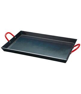 【露營趣】中和 美國 Coleman 黑鐵煎盤 煎鍋 鐵板燒 適雙口爐 瓦斯爐 烤肉架 焚火台 CM-9410J