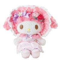 美樂蒂My Melody周邊商品推薦到美樂蒂40週年絨毛娃娃玩偶M號玫瑰公主系列936917海渡