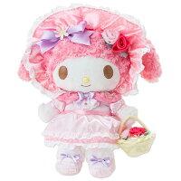 美樂蒂My Melody周邊商品推薦到美樂蒂40週年絨毛娃娃玩偶L號玫瑰公主系列936887海渡