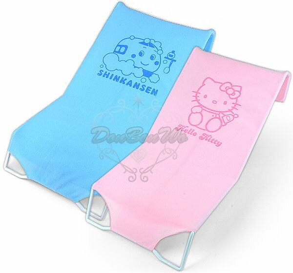 Kitty新幹線嬰兒洗澡安全沐浴床躺椅079512/089511海渡