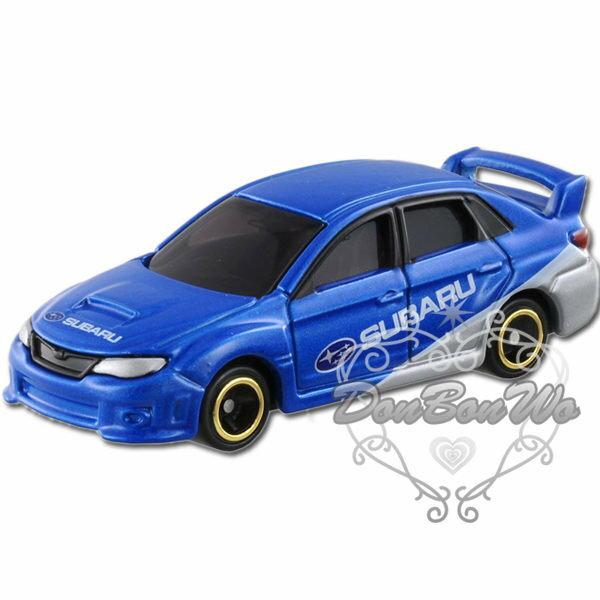 多美TOMY玩具車模型7號SUBARU WRX STI 4door速霸陸800989海渡