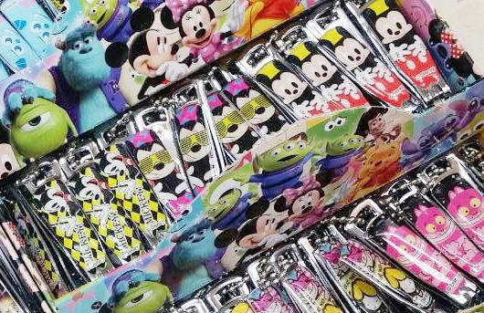 迪士尼米奇米妮不鏽鋼指甲剪261211海渡