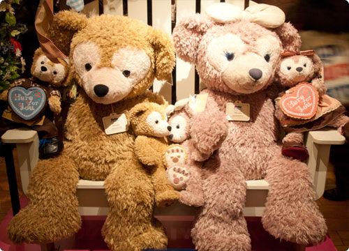 東京迪士尼海洋duffy娃娃ShellieMay 泰迪熊玩偶L代購海渡