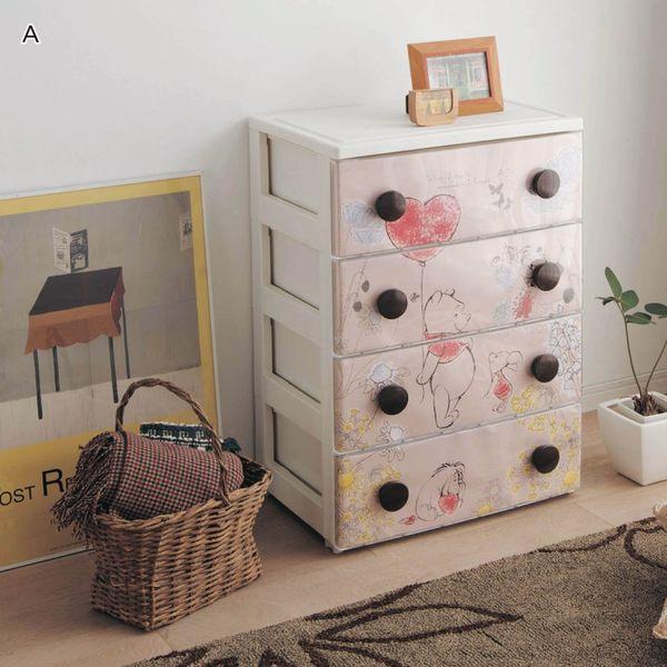 日本製維尼熊五斗櫃櫃子家具代購海渡