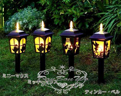 海渡-迪士尼小熊維尼小鳥LED太陽能免吃電環保夜燈庭院街燈487059代購