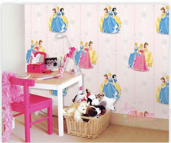 海渡-迪士尼公主系列雪花壁紙壁貼貼飾五斗櫃皆可用