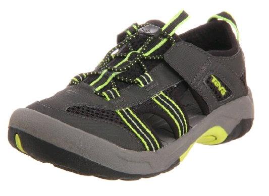 (送運動襪)(特價) TEVA 大童 童鞋 水陸運動鞋美國第一品牌 1000327BLK OMNIUM 2 護趾水陸兩用運動[陽光樂活]