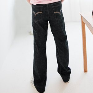 【魔法施】AYBORTEH高貴藍【美國大尺碼】高雅優選【公司㊣貨】彈力牛仔褲