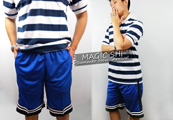 【魔法施】ENGERHWA吸溼排汗休閒運動短褲【多色任選】 1