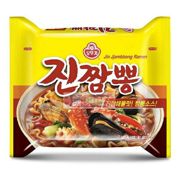 不倒翁 螃蟹風味炒碼麵 內銷版 韓國泡麵