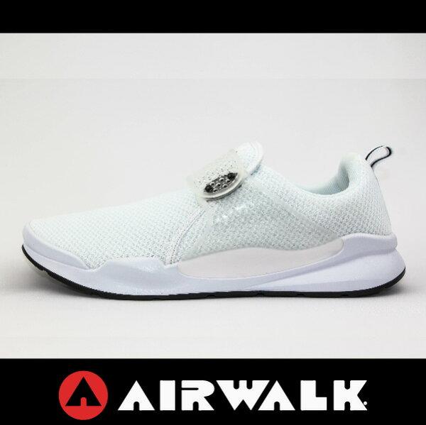 萬特戶外運動 AIRWALK NIKE Sock Dart A611240400 洞洞膠片編織氣墊運動男鞋-白透白 透氣 舒適 輕量 藤原浩