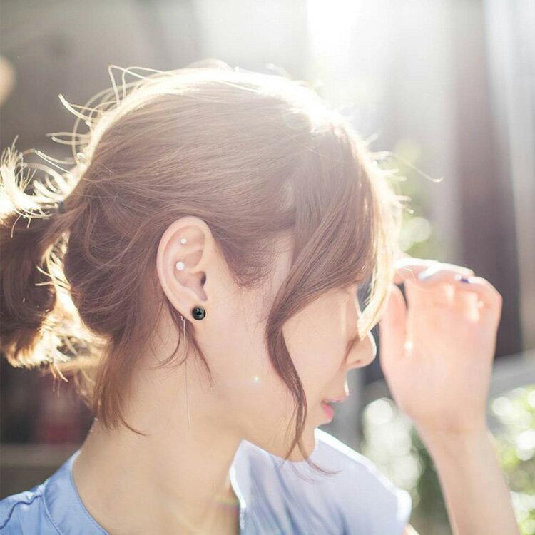 耳環 個性線條流蘇簡約長款耳環【TSEW875】 BOBI  07/07 1