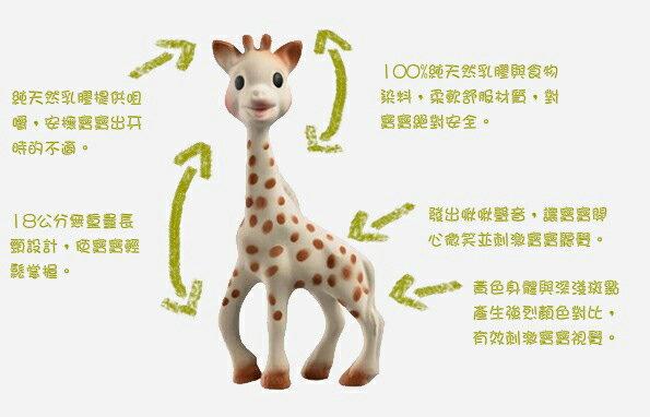Vulli - Sophie la Girafe蘇菲長頸鹿固齒器 法國純手工製造 原廠代理正品 3
