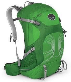 【鄉野情戶外專業】 Osprey |美國|  STRATOS 34 登山背包/自助旅行背包 健行背包-蒼綠M/L/Stratos34 【容量34L】