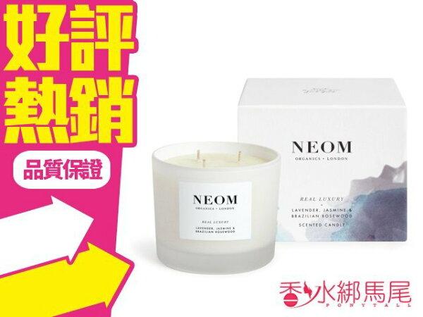 ◐香水綁馬尾◐英國 NEOM 皇家奢華香氛蠟燭 420g 凱特王妃愛用