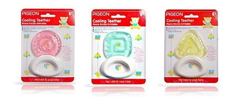 日本【Pigeon 貝親】冰涼固齒器-形狀系列 - 限時優惠好康折扣